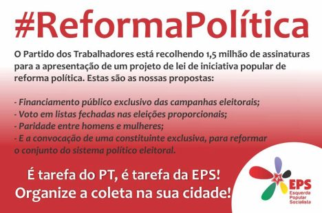 ABAIXO ASSINADO REFORMA POLITICA